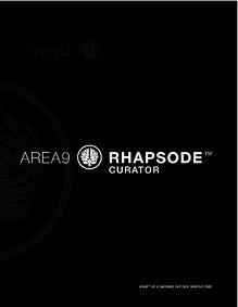 Rhapsode Curator Cover
