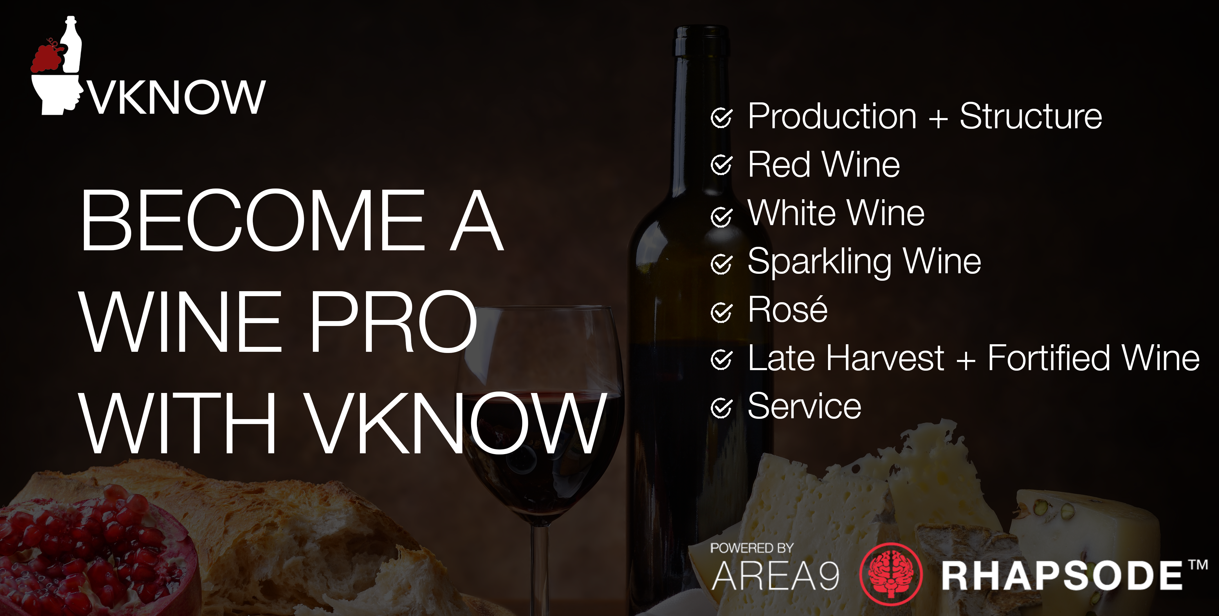 Area9 Lyceum + VKNOW: Become a Wine Pro and Experience Adaptive Learning